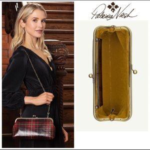 Patricia Nash Red Tartan Crossbody/Clutch Bag New